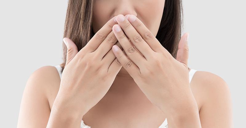 Cómo evitar el mal aliento o halitosis