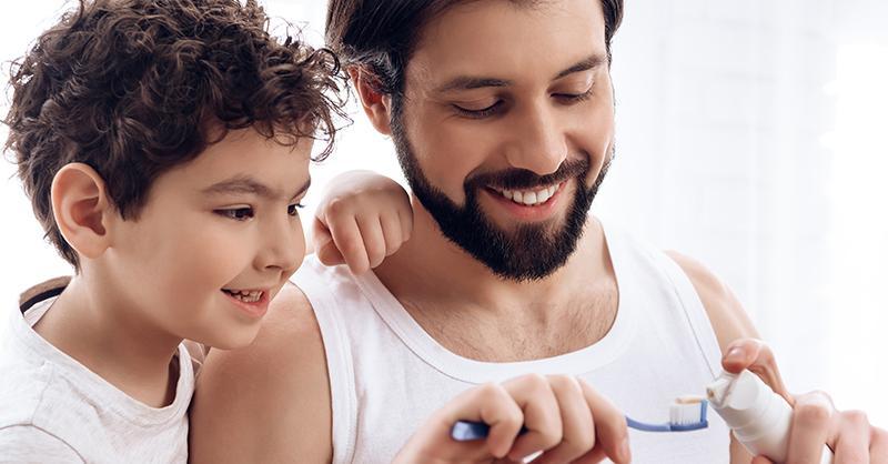 Enseñando higiene dental a los niños de forma divertida